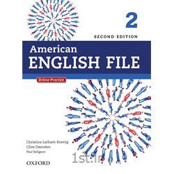کتاب و سی دی آموزش زبان انگلیسی American English File 2 Second Edition