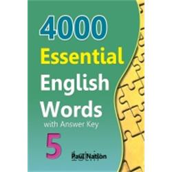 کتاب 4000Essential English Words Book 5 with Answer Key + CD