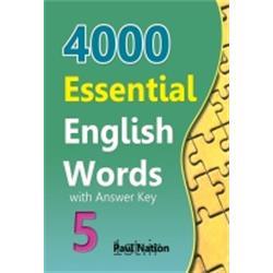 کتاب 4000Essential English Words Book 5 with Answer Key + CD