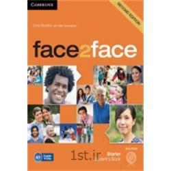عکس آموزش زبانکتاب زبان انگلیسی Face 2 Face Starter Student's Book