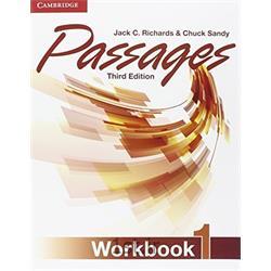 کتاب و سی دی آموزشی زبان انگلیسی Passages 1 WorkBook 3rd Edition