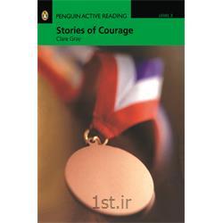 کتاب داستان انگلیسی به همراه سی دی Penguin Level 3: Stories of Courage
