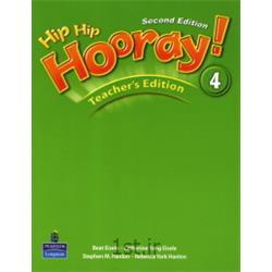 کتاب آموزش زبان انگلیسی Hip Hip Hooray 4 Teacher's Book 2nd Edition
