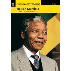 کتاب داستان انگلیسی همراه با سی دی Penguin Level 2: Nelson Mandela