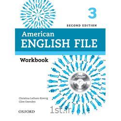 کتاب آموزش زبان American English File 3 Workbook 2nd Edition