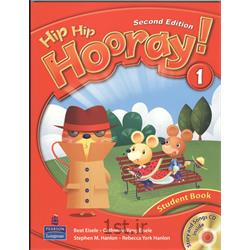 کتاب آموزش زبان انگلیسی Hip Hip Hooray 1 Student Book 2nd Edition + CD