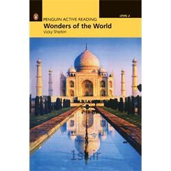 عکس آموزش زبانکتاب و سی دی داستان انگلیسی Penguin Level 2: Wonders of the World