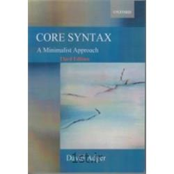 کتاب انگلیسی CORE SYNTAXT Third Edition