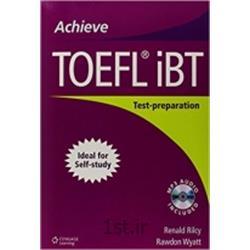 کتاب زبان انگلیسی Achieve TOEFL ibt Test-Preparation