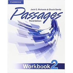 کتاب و سی دی آموزشی زبان انگلیسی Passages 2 WorkBook 3rd Edition
