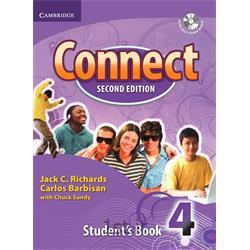 کتاب و سی دی آموزش زبان انگلیسی Connect 4 Student's Book 2nd Edition