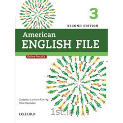 کتاب و سی دی آموزش زبان انگلیسی American English File 3 Second Edition