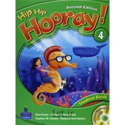 کتاب آموزش زبان انگلیسی Hip Hip Hooray 4 Student Book 2nd Edition + CD
