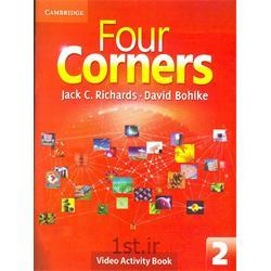 کتاب آموزش زبان انگلیسی Four Corners 2 Video activity Book