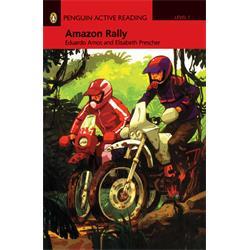 کتاب داستان انگلیسی به همراه سی دی Penguin Level 1: Amazon Rally