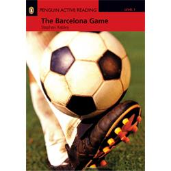 کتاب داستان انگلیسی با سی دی Penguin Level 1: The Barcelona Game