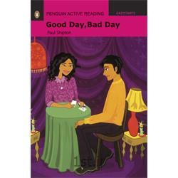 عکس آموزش زبانکتاب داستان انگلیسی با سی دی Penguin EasyStarts: Good Day, Bad Day