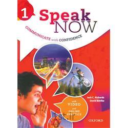کتاب و دی وی دی آموزش زبان انگلیسی Speak Now 1 Student's Book