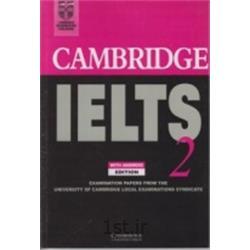 کتاب زبان انگلیسی  Cambridge IELTS 2 + CD
