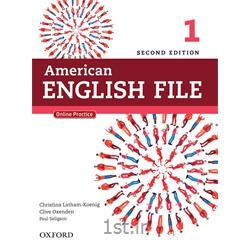 کتاب و سی دی آموزش زبان انگلیسی American English File 1 Second Edition