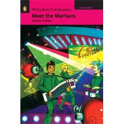 عکس آموزش زبانکتاب داستان انگلیسی با سی دی Penguin EasyStarts: Meet the Martians