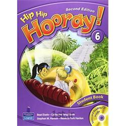 کتاب آموزش زبان انگلیسی Hip Hip Hooray 6 Student Book 2nd Edition + CD