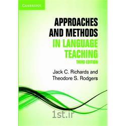 کتاب انگلیسی Approaches and Methods in Language Teaching 3rd Edition