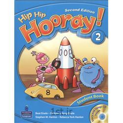 کتاب آموزش زبان انگلیسی Hip Hip Hooray 2 Student Book 2nd Edition + CD