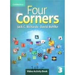 کتاب آموزش زبان انگلیسی Four Corners 3 Video activity Book
