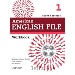 کتاب آموزش زبان American English File 1 Workbook 2nd Edition