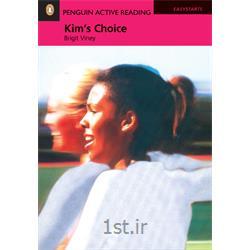 کتاب داستان انگلیسی به همراه سی دی Penguin EasyStarts: Kim's Choice