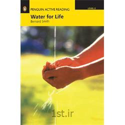 کتاب داستان انگلیسی همراه با سی دی Penguin Level 2: Water for life