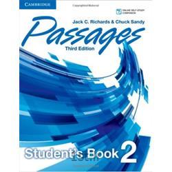 کتاب و سی دی آموزشی زبان انگلیسی Passages 2 Student's Book 3rd Edition