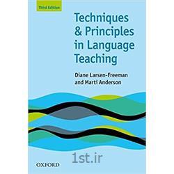 کتاب انگلیسی Techniques & principles in language Teaching 3rd Edition