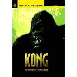 عکس آموزش زبانکتاب داستان انگلیسی همراه با سی دی Penguin Level 2: Kong