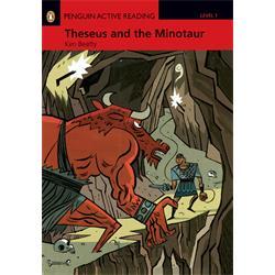 کتاب و سی دی داستان انگلیسی Penguin Level 1: Theseus and the Minotaur