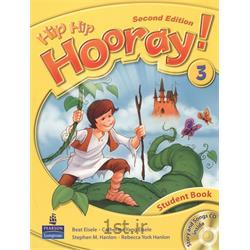 کتاب آموزش زبان انگلیسی Hip Hip Hooray 3 Student Book 2nd Edition + CD