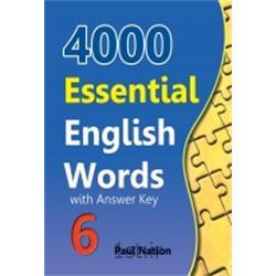 کتاب 4000Essential English Words Book 6 with Answer Key + CD
