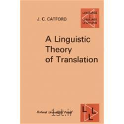 کتاب زبان انگلیسیA Linguistic Theory of Translation