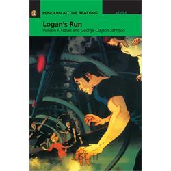 کتاب داستان انگلیسی به همراه سی دی  Penguin Level 3: Logan's Run