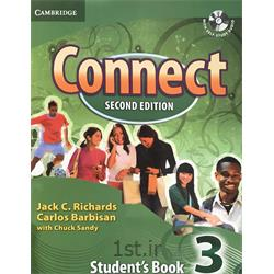 کتاب و سی دی آموزش زبان انگلیسی Connect 3 Student's Book 2nd Edition