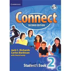 کتاب و سی دی آموزش زبان انگلیسی Connect 2 Student's Book 2nd Edition