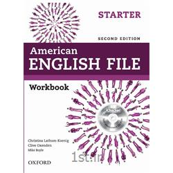 کتاب آموزش زبان American English File Starter Workbook 2nd Edition