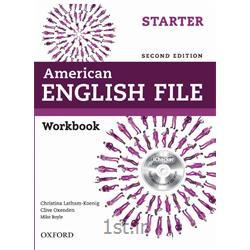 کتاب آموزش زبان American English File Starter Workbook 2nd Edition