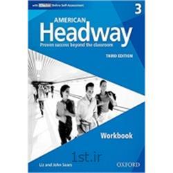 کتاب زبان انگلیسی American Headway 3 Workbook 3rd Edition