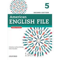 کتاب و سی دی آموزش زبان انگلیسی American English File 5 Second Edition