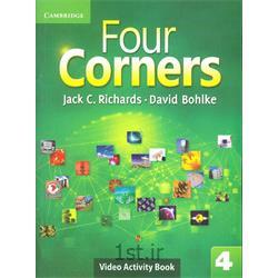 کتاب آموزش زبان انگلیسی Four Corners 4 Video activity Book