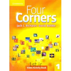 کتاب آموزش زبان انگلیسی Four Corners 1 Video activity Book
