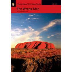 کتاب داستان انگلیسی به همراه سی دی Penguin Level 1: The Wrong Man