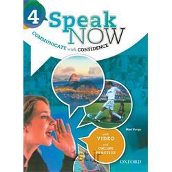 کتاب و دی وی دی آموزش زبان انگلیسی Speak Now 4 Student's Book
